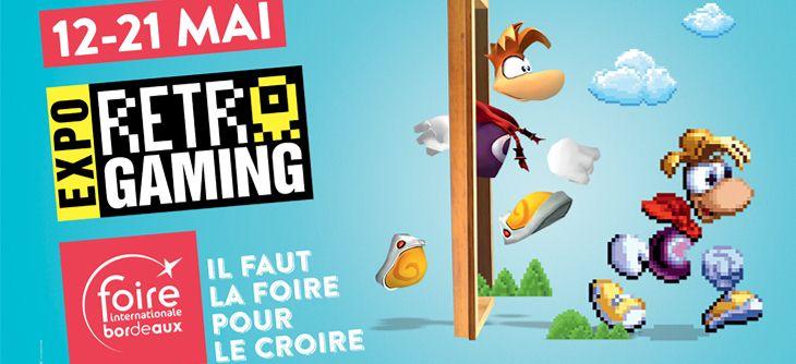 Rétro Gaming à la Foire Internationale de Bordeaux