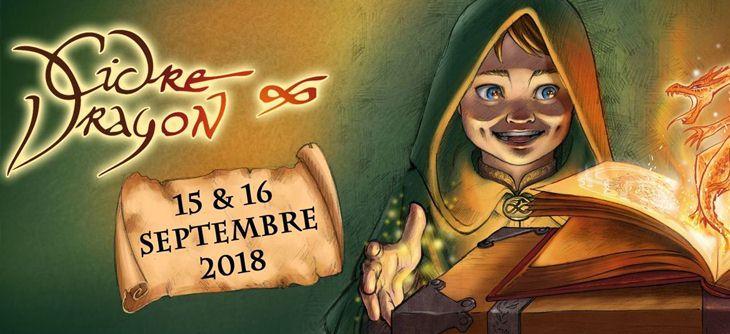 Cidre et Dragon 2018 - 9ème édition du festival Médiéval Fantasy