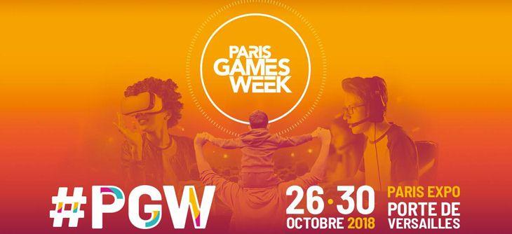 Paris Games Week 2018 - 9ème édition du 1er salon français du jeu vidéo