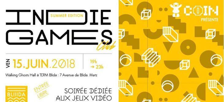 Indie Games Club 2018