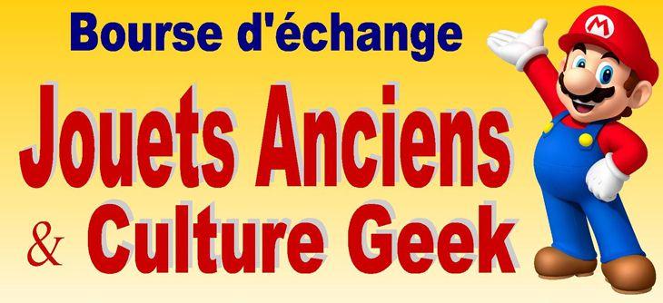 Bourse Jouets Anciens et Culture Geek