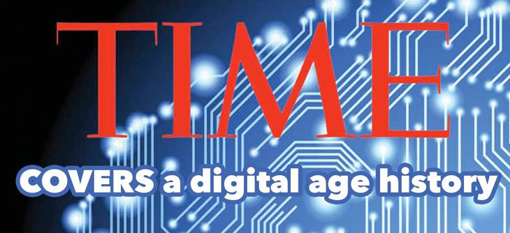 TIME COVERS - a digital age history