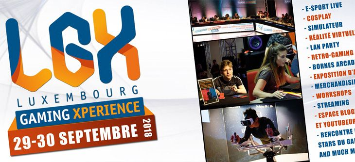 Luxembourg Gaming Xperience 2018