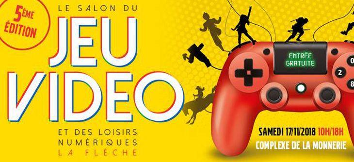 Salon du jeu vidéo et des loisirs numériques à La Flèche 2018