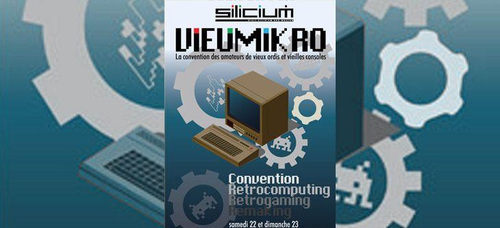 Vieumikro 2018 - 24ème édition de la convention des vieux ordinateurs