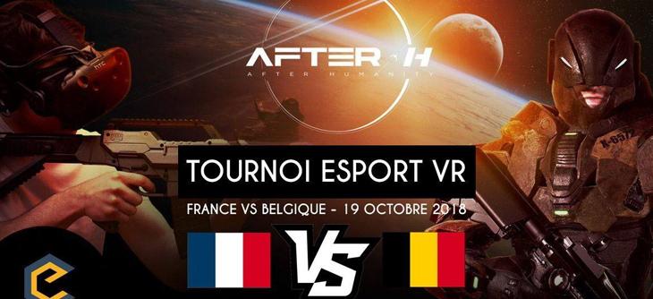 Tournoi eSport VR France VS Belgique