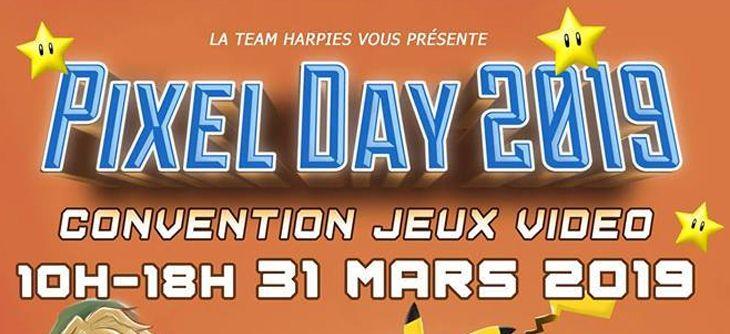 Pixel Day - édition 2019 de la Bourse de jeux vidéo belge