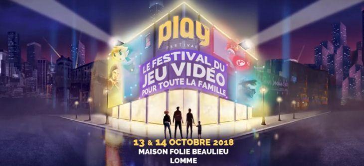 Play'it Festival 2018 - festival du jeu vidéo en métropole lilloise
