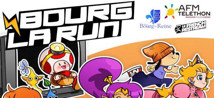 Bourg la Run 2018 - Marathon caritatif jeux-vidéo pour le Téléthon