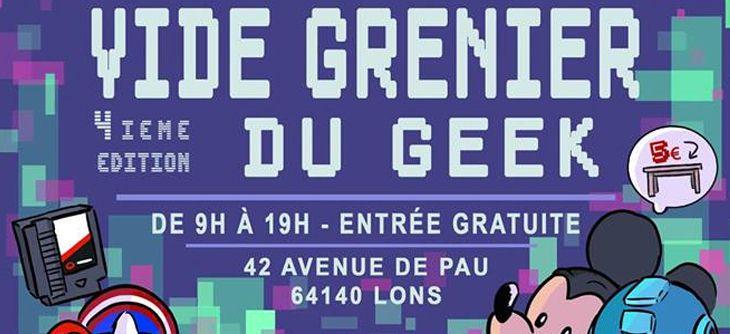 Vide Grenier du Geek #4