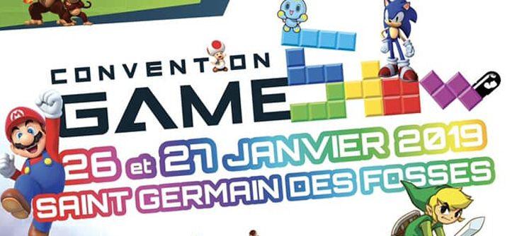 Convention Game Show 2019 à Saint Germain Des Fossés Du