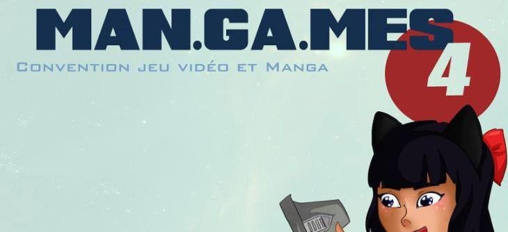 Man.Ga.Mes 2019 - quatrième édition de la convention jeu vidéo et manga