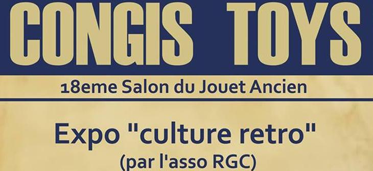 Congis Toys 2019 - 18ème Salon du Jouet Ancien