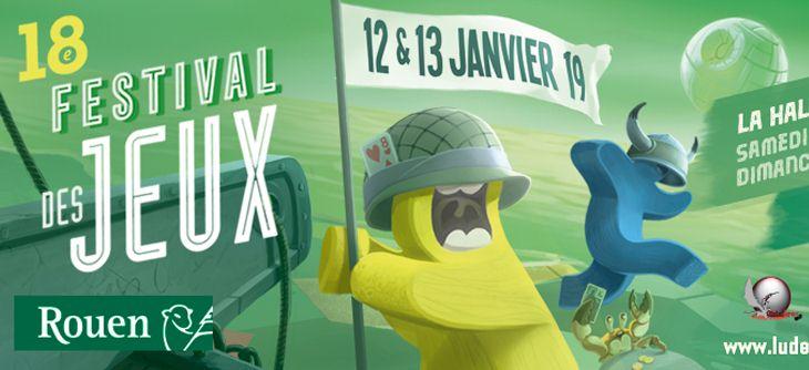Festival des Jeux de Rouen 2019