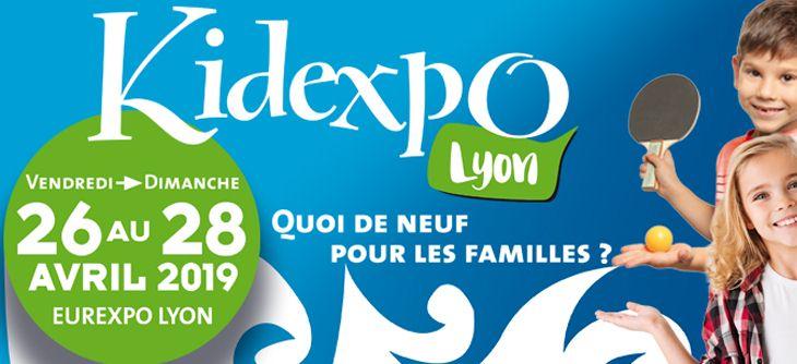 Kidexpo Lyon 2019 - édition lyonnaise du salon du jouet et de l'enfant