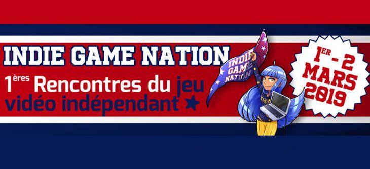 Indie Game Nation - 1ères rencontres du jeu vidéo indépendant