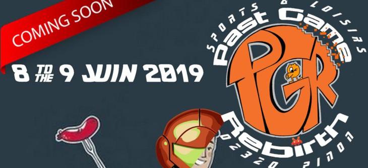 Past Game Rebirth PGR 2019 - 12ème édition