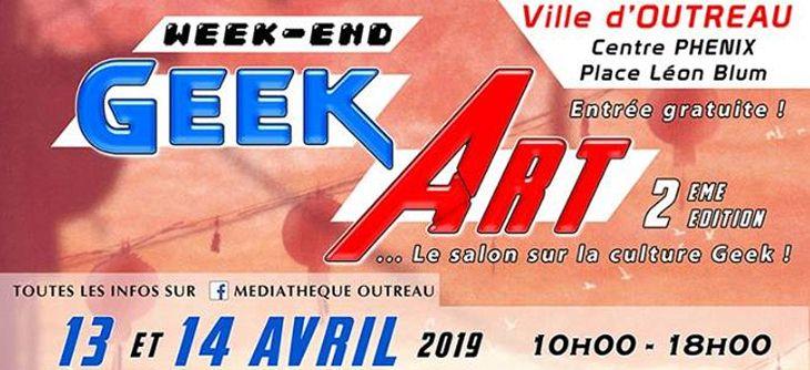 Week-end Geek Art 2ème édition