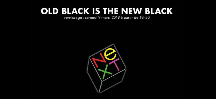 Old Black is the New Black - Exposition pour les 30 ans du NeXT Cube