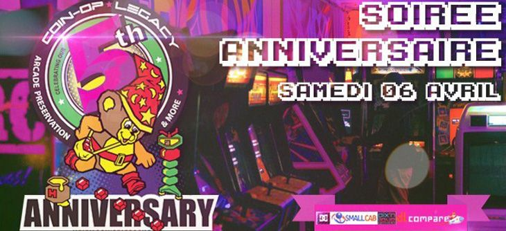 Soirée anniversaire 5 ans (déjà !) de Coin-op Legacy
