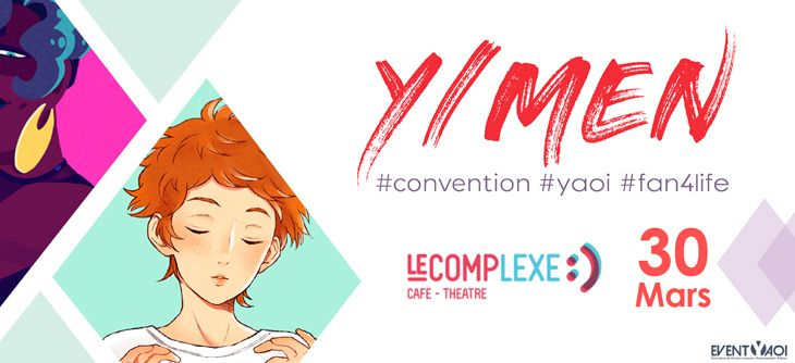 Y/MEN - convention Yaoi