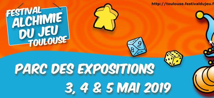 Festival Alchimie du Jeu de Toulouse 2019