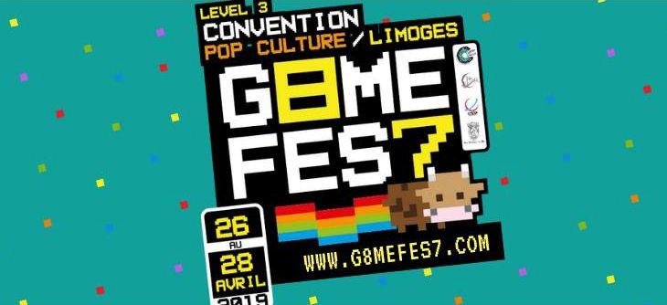 G8ME FES7 2019 - Convention de pop culture à Limoges