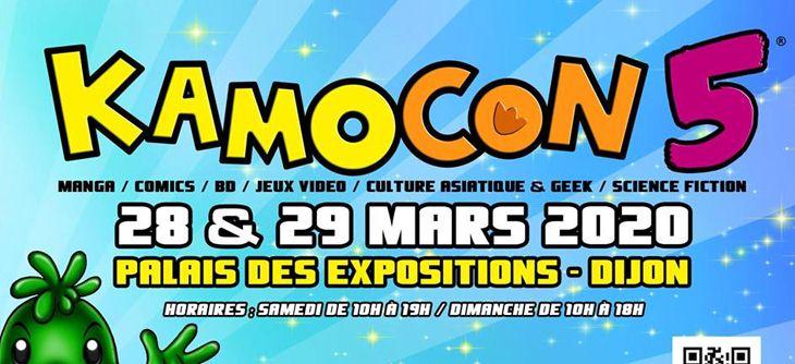 Kamo Con 2020 - salon de la culture asiatique