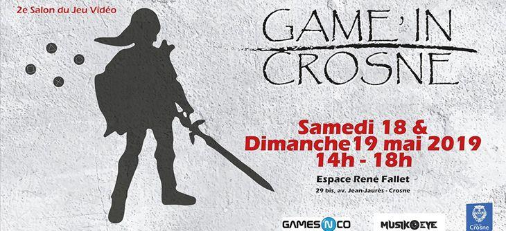 Game'in Crosne 2019 - Deuxième édition du salon du jeu vidéo de la ville de Crosne