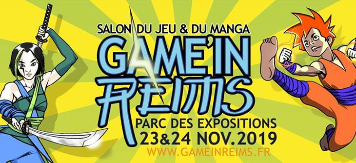 Game'in Reims 2019 - 3ème édition du salon du jeu et du manga