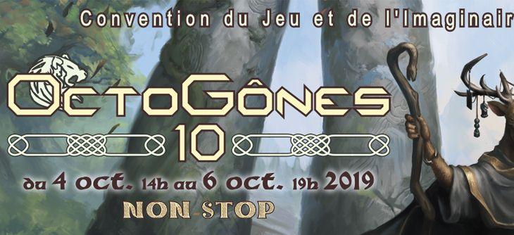 OctoGônes 2019 - 10ème Convention du Jeu et de l'Imaginaire