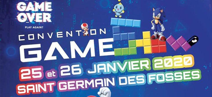 Convention Game Show 2020 à Saint Germain Des Fossés Du