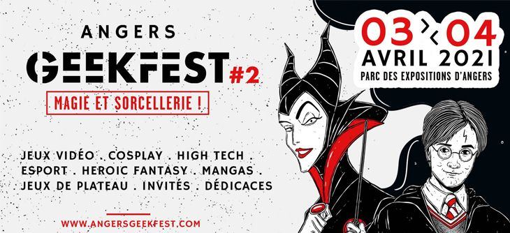 Angers Geek Festival 2021