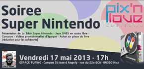 Soirée Super Nintendo