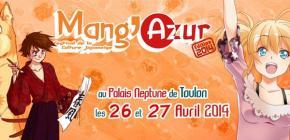 Mang'Azur 2014 - le salon de la culture Japonaise