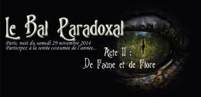 Soirée d'Halloween - Le Bal Paradoxal