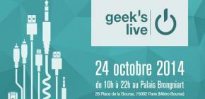 Geek's Live 7 - septième édition du salon Geek gratuit