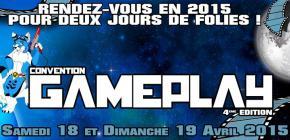 Gameplay Convention 2015 - 4ème édition du salon du jeu vidéo