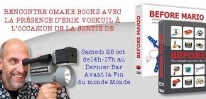 Rencontre Omaké Books avec Erik Voskuil, l'auteur de Before Mario