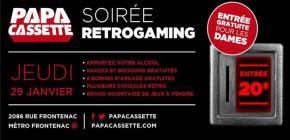 Soirée Retrogaming Papa Cassette