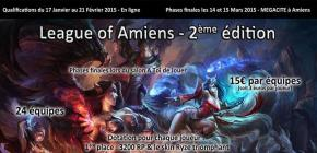 League Of Amiens 2ème édition - Phases finales