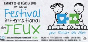 Festival International des Jeux Cannes 2016