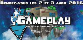 Gameplay Convention 2016 - 5ème édition du salon du jeu vidéo
