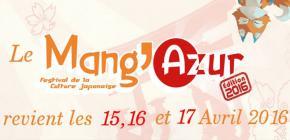 Mang'Azur 2016 - onzième édition du salon de la culture Japonaise
