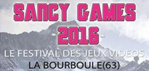 Sancy Games 2016 - 7ème édition du Festival des Jeux Vidéo