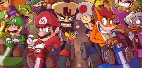Soirée Jeux de courses - Mario Kart 8 VS Crash Team Racing
