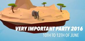 Very Important Party 2016 - demoparty