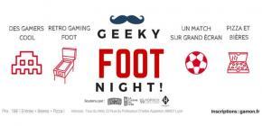 Geeky Foot Night