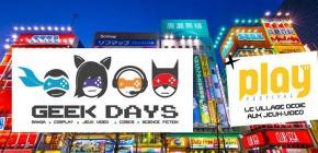 Geek Days 2017 - jeux video, comics, scifi, manga, cosplay à Lille