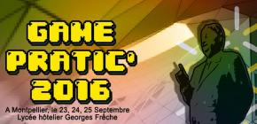 Game Pratic 2016, Game Jam avec la Région Occitanie